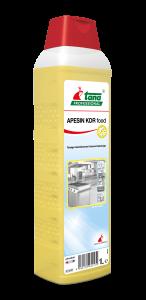 APESIN KDR food, Flüssiger, desinfizierender Küchen-Schnellreiniger, 1 l und 10 l