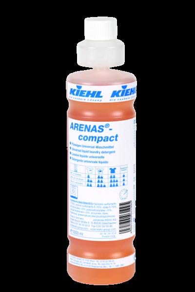 Arenas-compact, Flüssiges Universal-Waschmittel, 1 l