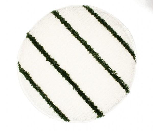 """Queen Bonnet Pad 13""""-17"""" mit grünen Streifen, für Unterhaltsreinigung"""