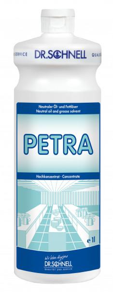 Petra, neutraler Öl- und Fettlöser, 1 l und 10 l