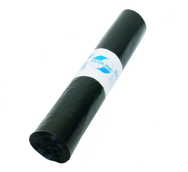 Müllbeutel 700x1100, 120l, Typ100, schwarz, 15 Stück/Rolle