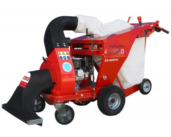 Fahrbarer Laub - und Abfallsauger ES 660 PIA