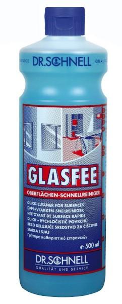 Glasfee, Oberflächen-Schnellreiniger, 500 ml, 1 l, 10 l und 500 ml mit Sprühaufsatz