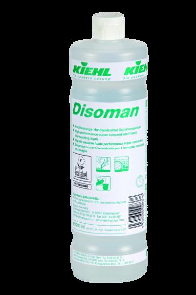 Disoman, Hochleistungs-Handspülmittel Superkonzentrat, 1 l oder 5 l