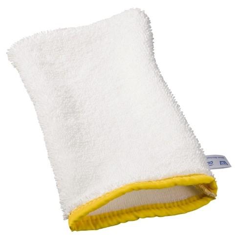 Handschuh-Mop Ceran, Einfassband gelb