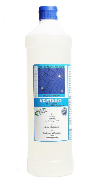 Kristallo Konzentrat universeller Unterhaltsreiniger 1 l und 10 l