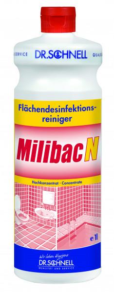 Milibac N, Flüssiges Flächendesinfektionsmittel-Konzentrat, 1 l