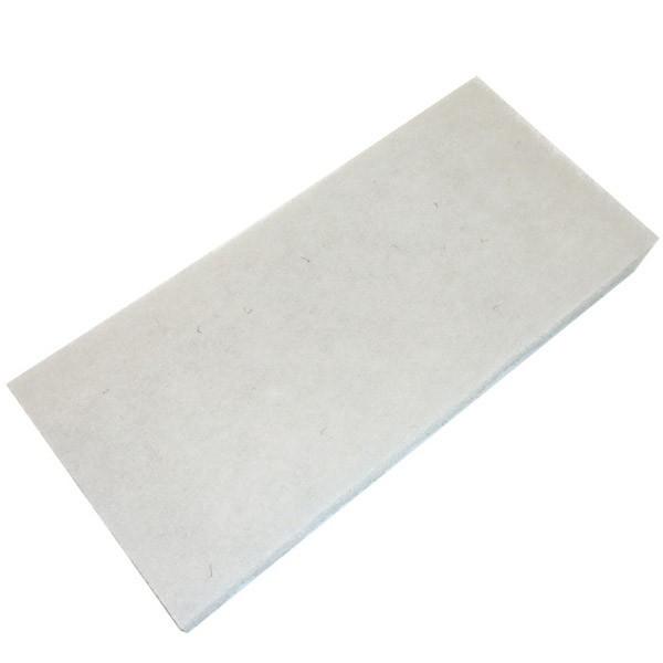 Schrubbpad, weiß, 20cm