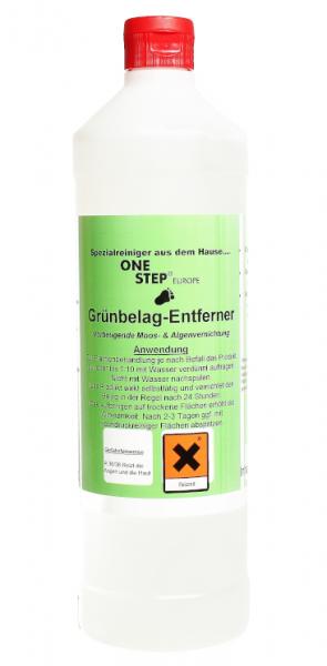 One Step Grünbelag-Entferner, 1 l und 10 l