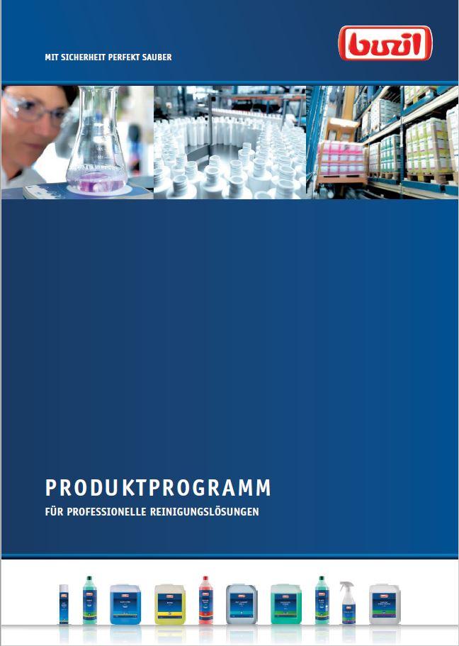 Buzil Produktprogramm