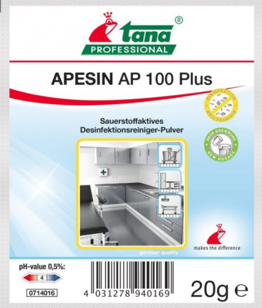 Apesin AP 100 Plus, 200 x 20 g
