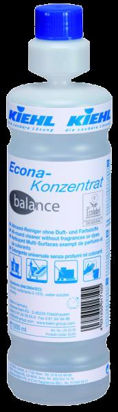 Econa-Konzentrat balance, Allround-Reiniger ohne Duft- und Farbstoffe, 1 l oder 10 l