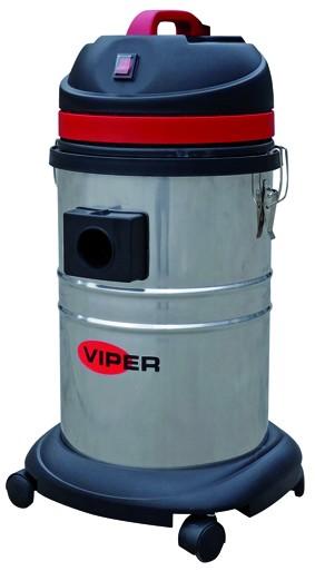 VIPER LSU135 Nass-/ Trockensauger mit Edelstahlbehälter oder Kunststoffbehälter