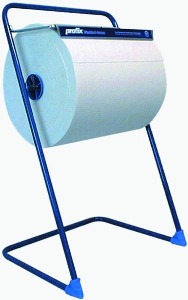 profix Bodenständer für Putzpapier, Metall, blau, Höhe 850 mm x Breite 810 mm x Tiefe 430 mm
