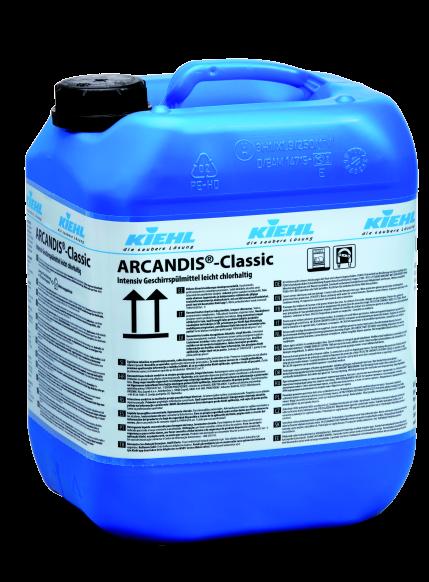 Arcandis-Classic, Intensiv-Geschirrspülmittel, leicht chlorhaltig, 10 l un 20 l
