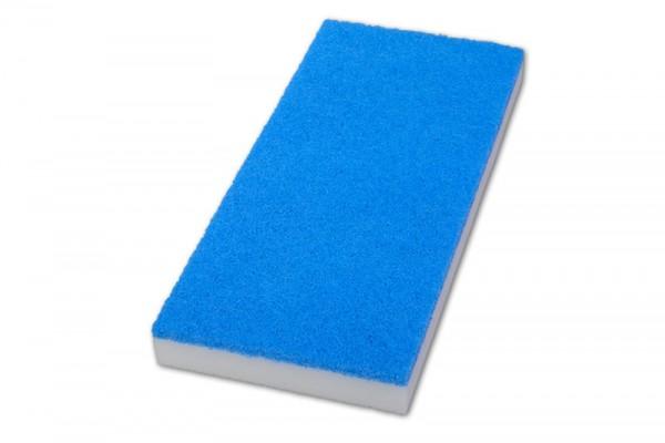 Super-Handpad, Melamin - weiß / blau