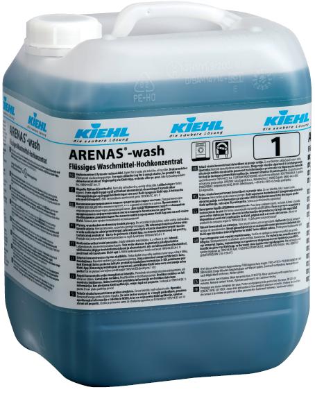 Arenas-wash, Flüssiges Waschmittel-Hochkonzentrat, 10 l