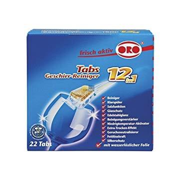 frisch-aktiv Geschirr-Reiniger Tabs 12in1