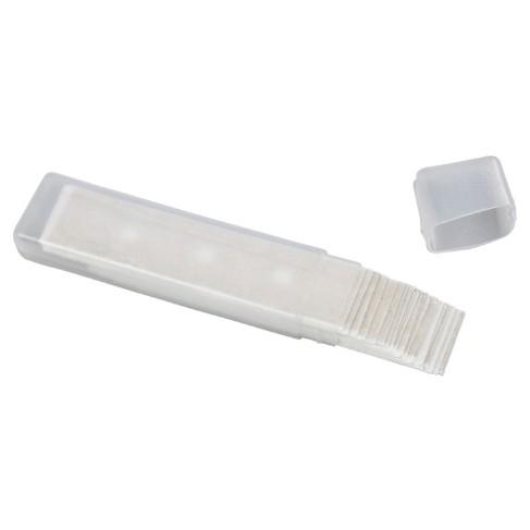 Ersatzklingen für Klingenhalter und Glassman, 25 Stück im Etui