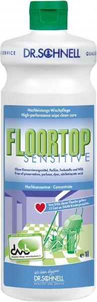 Floortop Sensitive, Hochleistungs-Wischpflege, 1 l