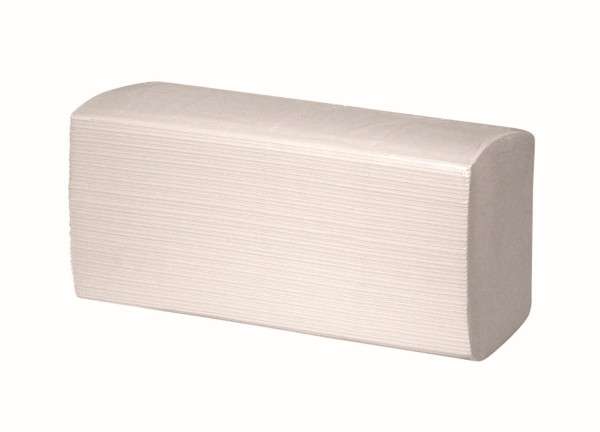Papierhandtuch, hochweiß, Interfold, 2-lagig, 21 x 32 cm, 3200 Blatt