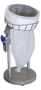 Abfallbehälter für Endlos-Müllbeutel