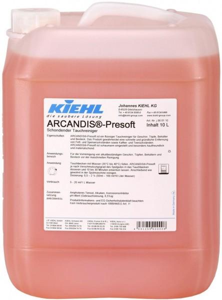 Arcandis-Presoft, Schonender Vorreiniger, 1 l und 10 l