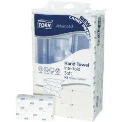 Tork Handtuchpapier, hochweiß, Interfold H2 , 2-lagig, 21 x 34 cm, 2100 Blatt