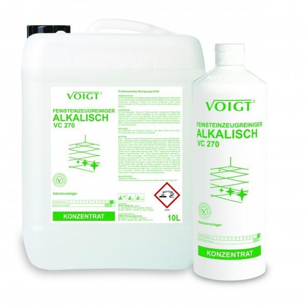 VC 270 Feinsteinzeugreiniger alkalisch, 1 l und 10 l