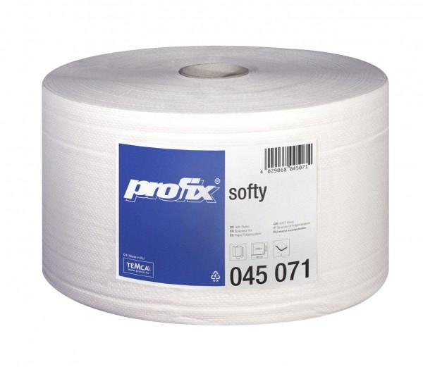 profix Softy Putztuchrolle, hochweiß, 2-lagig, 22 x 36 cm, 2000 Blatt