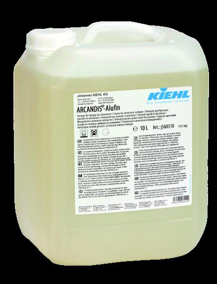 Arcandis-Alufin, Reiniger für Spülgut aus Aluminium, 10 L