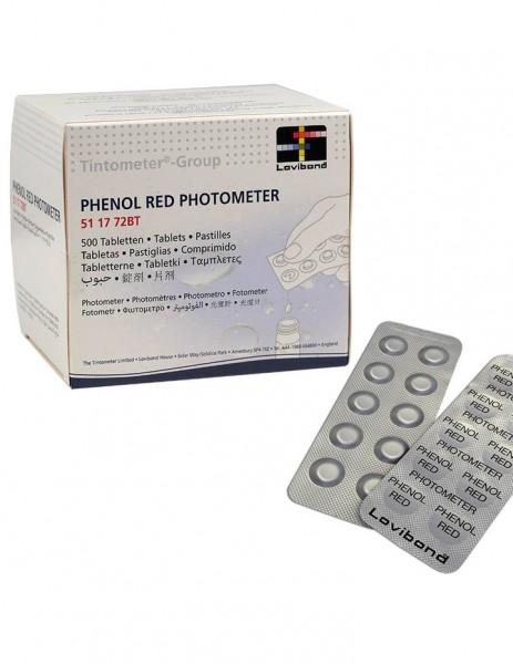 Lovibond Tabletten Phenolrot, 500 Stück