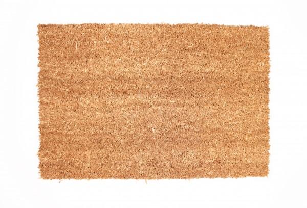 Schmutzfangmatte, schwere Qualität, Kokos 40x 60 cm, 18 mm