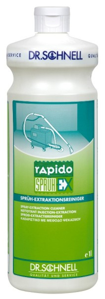 Rapido Sprüh-Ex, Sprüh-Extraktionsreiniger, 1 l und 10 l