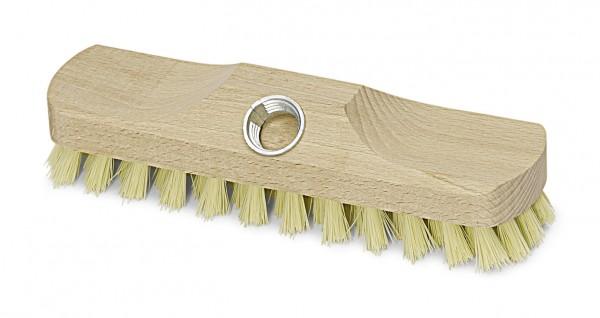 Schrubber, Fibre-Natur, mit Gewinde, ohne Bart, 5-reihig, 22 cm