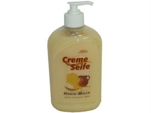Cremeseifen Balsam, Honig-Milch, 500 ml Spenderflasche