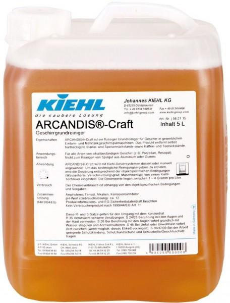 Arcandis Craft, Geschirrgrundreiniger, 5 l