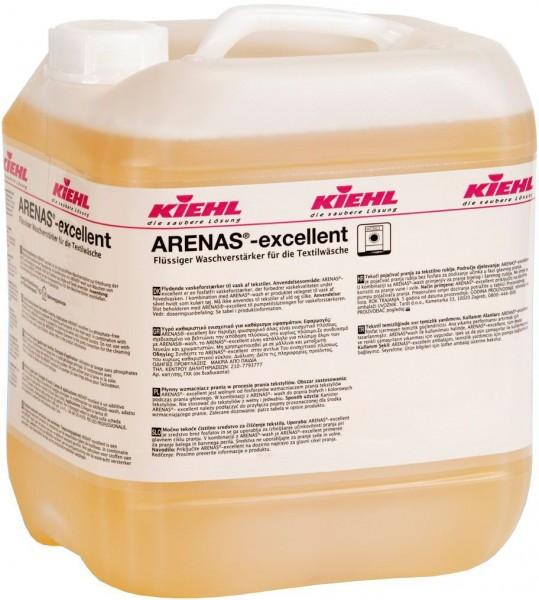 Arenas-excellent, Flüssiger Waschverstärker für die Textilwäsche, 10 l