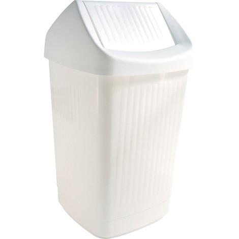 Mülleimer mit Schwingdeckel 50 l, Kunststoff