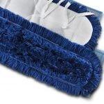Acryl Mop Blau 60 & 80 cm für die Trockenreinigung