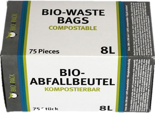 BIO Müllbeutel 8 Liter, 100% Kompostierbar