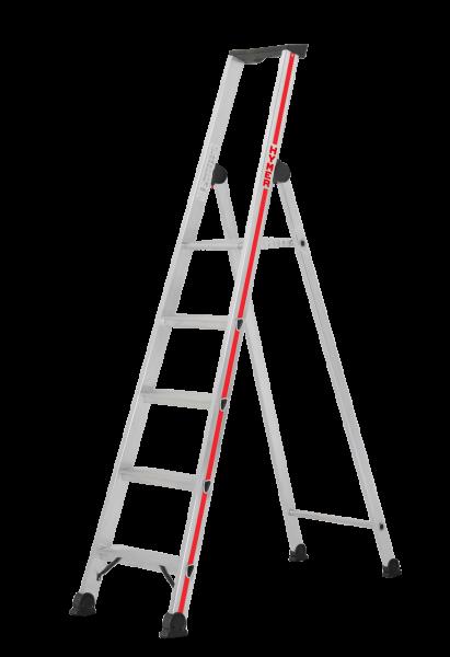 Stufenleiter mit Plattform, einseitig begehbar