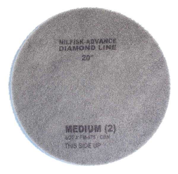 "Nilfisk Diamant Pad, 20"", 508 mm, weiß"