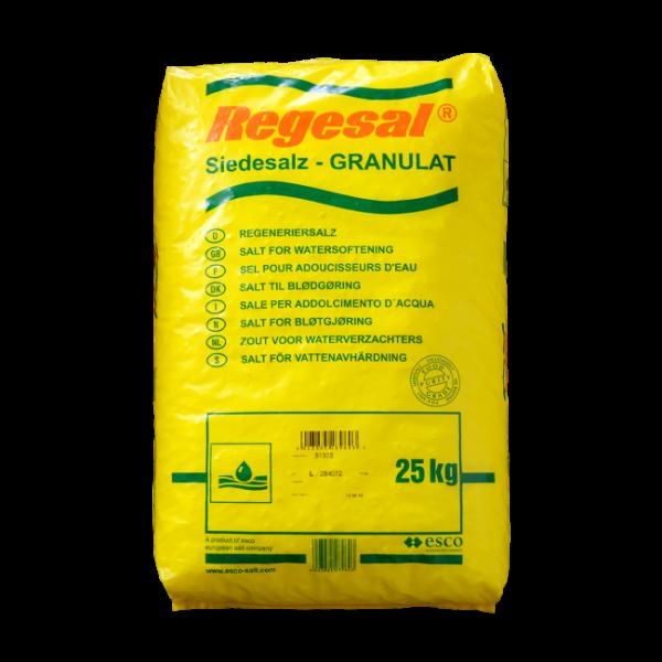 ESCO Regesal Granulat aus reinem Siedesalz 25 kg Sack