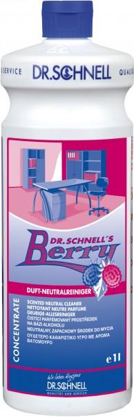 Dr. Schnell`s Berry, Duft-Neutralreiniger, 1 l und 10 l