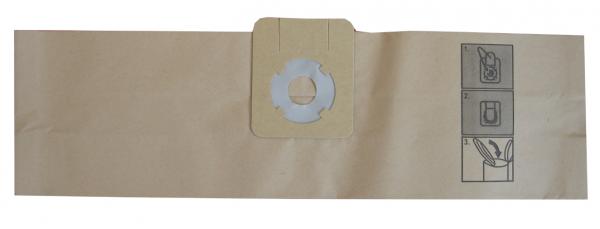Papierfilter für Wetrok Monovac 6, Monovac 6 Plus, Bantam 6/9 (10er Pak.)