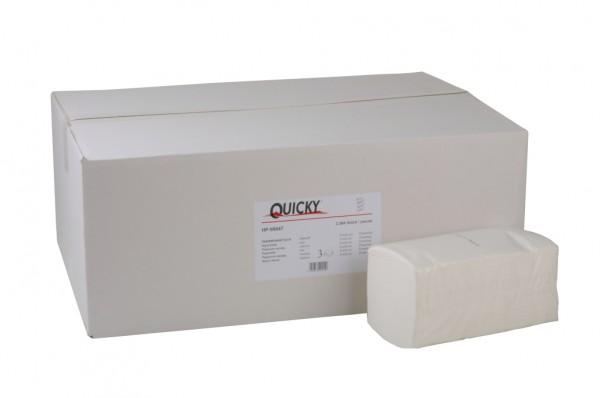 Papierhandtuch, hochweiß, 3-lagig, 22 x 32 cm, 2500 Blatt