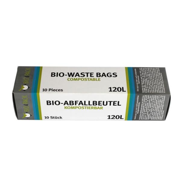 BIO Müllbeutel 120 Liter, 100 % Kompostierbar