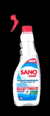 SANOmat Desinfektionsreiniger 750 ml Sprühflasche