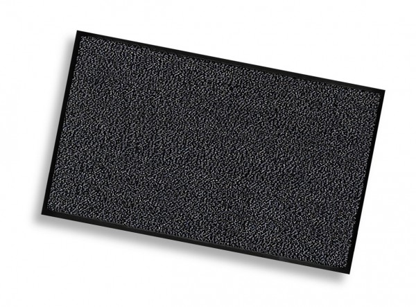 Schmutzfangmatte schwarz, leichte Qualität, 90 x 150 cm